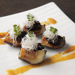 ケンゾーエステイトワイナリー - 米茄子の八丁味噌田楽 ¥1,800-