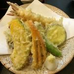 角三 - 「天ぷら定食」(980円)の天ぷら