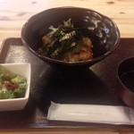 Ginzajanome - ステーキ丼セット 990円