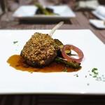 アンミラート - 仔羊の香草パン粉焼き