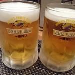 食楽茶屋 舎利蔵 - ビール