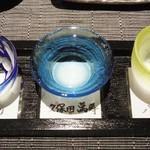 新潟 日本橋 - 大吟醸酒飲み比べ