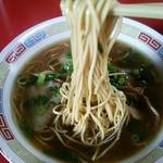 中華そば へんこつ - 麺リフト(^^♪