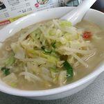 カツミ軒 - タンメン肉抜きアジ濃いめ「670円」
