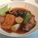 中国料理 桃李 - 豚バラ肉と豆腐の煮込み