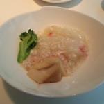 中国料理 桃李 - 蟹肉と白菜の煮込み