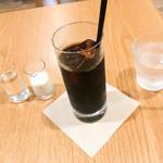 銀座みもざ館カフェ - アイスコーヒー