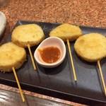 三代目 鳥メロ - 長芋串