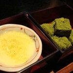 J cocoro - 抹茶フォンデュ