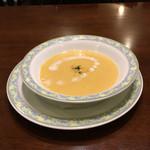 味楽亭 - セットでつけたスープ