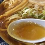 さかい囲飲 - 澄んだスープ