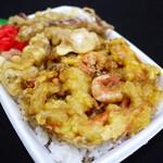 おべんとくらぶ - 料理写真:かき揚げ弁当