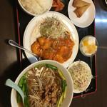 福源 - エビチリ定食