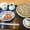 お福 - 料理写真:鴨セット 2016.9月