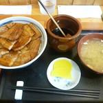 ぶた丼のとん田 - バラ豚丼 2016.9月