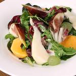 有機野菜のリーフサラダ