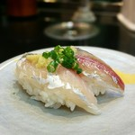 グルメ廻転寿司  まぐろ問屋 めぐみ水産 - 長崎のアジ