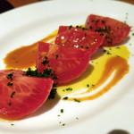 56209258 - 味噌床で漬けたフレッシュトマト