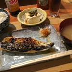 うしお - 鯖焼定食(900円)