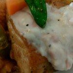 ラパン - 鶏肉料理 ベーコン入りクリームソース