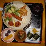 柿の里 - レディースセット、アフターコーヒーorアイスクリーム付¥850