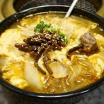 焼肉牛屋 - カルビ麺¥970