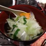陳麻家 - 陳麻飯+野菜麺 950円