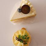 近藤洋菓子店 - ぶどうのショートケーキとジョンヌ・ヴェール♡
