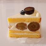 近藤洋菓子店 - ぶどうのショートケーキ