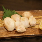 海鮮料理 沖菜 - 白子焼き。とろけますが体に悪そう(笑)