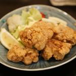 海鮮料理 沖菜 - 鳥の竜田揚げ。シンプルに美味しい