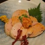 海鮮料理 沖菜 - アンキモもとろけます