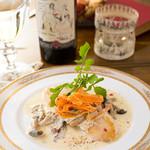 bistro & cafe La ChouChou - 本日のお魚 シャンピニオンソース