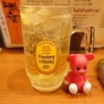 銘酒居酒屋 晴れる屋 - ハイボール 390円