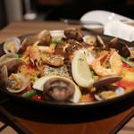 スペイン食堂 Estoy lleno - 本日の魚介のパエリア☆