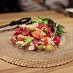 スペイン食堂 Estoy lleno - マグロのドノスティア風マリネ☆