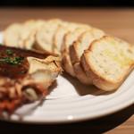 スペイン食堂 Estoy lleno - カニとカニ味噌のオーブン焼き【 チャングロ 】☆