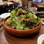 焼肉 山陽 - チョレギサラダ(410円)