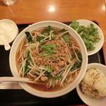 蘭美亭 - 麻辣刀削麺 880円(税込)