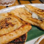 恵比寿 箸庵 - ラクレットチーズきつね焼き