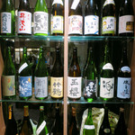 恵比寿 箸庵 - ずらっと日本酒