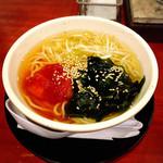 七輪焼肉 安安 - ミニキムチ冷麺