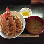 丼ぶりや - 天丼¥750