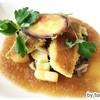 くれそん亭 - 料理写真:スズキペッパーの香り焼き りんご和風ソース