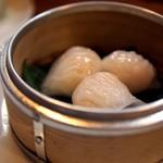 上海点心 豫園 - エビ蒸し餃子