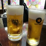 トーキョーエアポートレストラン - 生中と生グラス