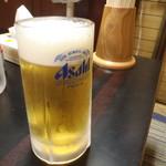 56223853 - 生ビール 1杯目♪