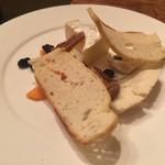 バクロウ - チーズ盛り合わせ