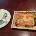 一茶寮 - これにcoffeeついて  700円      安い♪♪♪