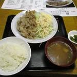食事処 志野 - 豚肉生姜焼き